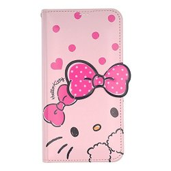 huge discount da955 46137 WiLLBee Iphone 7 Plus Iphone 8 Plus Case Hello Kitty Cute Diary Wallet Flip  Synthetic Leather Anti-shock Stand Function Mirror | R1350.00 | iPhone ...