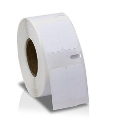 """Labels And More 12 Rolls Of White .5""""X1"""" Dymo Compatible 30333 Labelwriter Multi-purpose 1000 Labels P r 400 450 Twin Turbo Duo"""