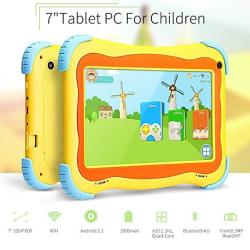 Yuntab Kids Tablet Q91 7 Inch Allwinner A33 1 3 Ghz Quad Core Google  Android 5 1 Tablet PC 1G+8G Dual Camera Wifi G-sensor Suppo | R1872 00 |