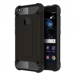 Tuff-Luv Tough Armor Combination Case for Huawei P10 Lite in Black