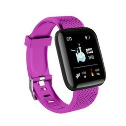 Sony Bakeey B6 1.3INCH Heart Rate Monitor Message Push Multi-language Smart Watch