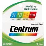 Centrum Adult Multivitamin 16 Tablets