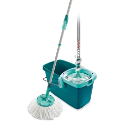Clean Twist Disc System Mop Set With Handle