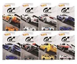HW DIECAST1:64 Basics - Gran Turismo Assortment Set Of 8 FKF26-999A By Hot Wheels