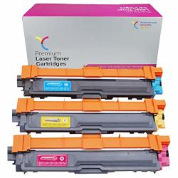 Yichuang Compatible Toner Cartridge Replacement For Brother TN225 Toner Cartridges TN225C TN225M TN225Y TN-225 Tn 225 HL-3140CW HL-3170CDW HL-3180 MFC-9130 High Yield C M