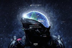 """CGC Huge Poster Glossy Finish - Mass Effect Andromeda PS4 Xbox One - EXT651 24"""" X 36"""" 61CM X 91.5CM"""