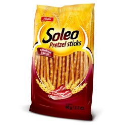 SOLEO PRETZEL Pretzel Sticks Bacon Bacon 60 G