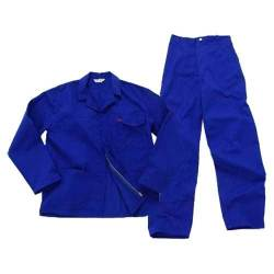 Pinnacle Welding & Safety Royal Blue 2 Piece Conti Suite Safety Overall SIZE-48