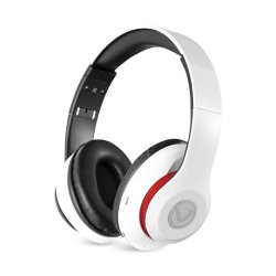 Volkano Impulse Series Bluetooth Headphones in White