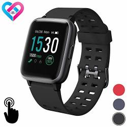 Pro-Fit Inspire Very Fit Pro Smart Watch Activity Fitness Tracker IP68 Waterproof Heart Rate Sleep Monitor Compatible With Iphone & Android Calorie Step Counter
