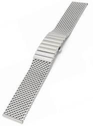 Shark 20MM Mesh Bracelet In Stainless Steel