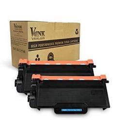 V4INK Compatible Brother TN880 Toner Cartridge For Brother Laser Printer HLL6200DW Brother HLL6200DWT MFCL6700DW HLL6250DW HLL6300DW HLL6400DW HLL6400DWT MFCL6750 MFCL6800 MFCL6900DW 2PK Black