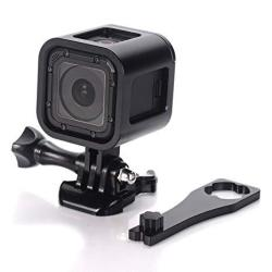 Nechkitter Gopro HERO4 HERO5 Session Frame Shell Housing Cnc Aluminum Alloy Solid Protective Case Skeleton With Screw And Wrench