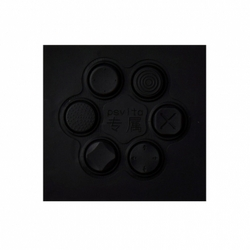 PS VITA 1000 2000 Silicon Analog Thumbstick Caps Black