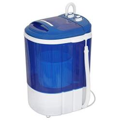 MINI Washing Machine 9LBS Portable Washer For Compact Laundry Semi-automatic Compact Washer & Spinner