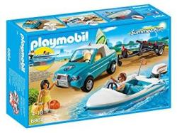 Playmobil - Cranbury Playmobil Surfer Pickup With Speedboat