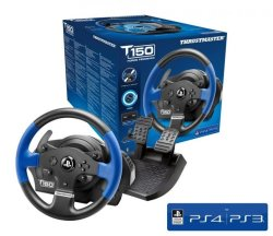 Thrustmaster T150 Force Feedback Steering Wheel For PS4 PS3 PC