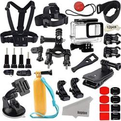 Kupton Accessories For Gopro Hero 7 6 5 HERO 2018 Action Camcorder Camera  Accessories Mounts Waterproof Case Chest Head Strap B   R1189 00   Filters   