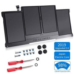 Replacement Battery For Macbook Air 13 Inch A1466 A1369 Japan Electric Core 2019 Upgraded 2.0 Cobalt Proportion 98% Late 2010 Ea