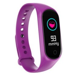 Bakeey M4S Heart Rate Blood Pressure O2 Monitor Multi-sport Modes Call Rejection