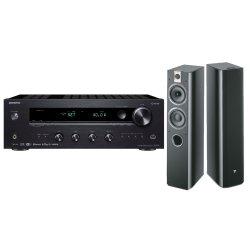 Onkyo TX-8270 Receiver With Focal Chorus 716 Floorstanding Speakers - Black  Speakers | R | Hi-Fi Speakers & Sound Bars | PriceCheck SA