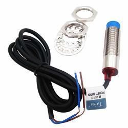 Taiss M18 Proximity Sensor 2 Wire No Normally Open 6-36VDC 8MM Approach Sensor Inductive Proximity Switch LJ18A3-8-Z EX