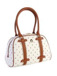 POLO Heritage Bowling Handbag White