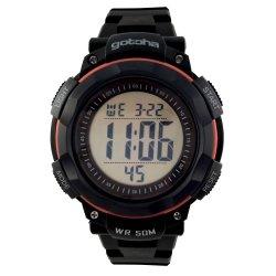 Gotcha - Gents 50M Wr Black And Orange Digital Watch