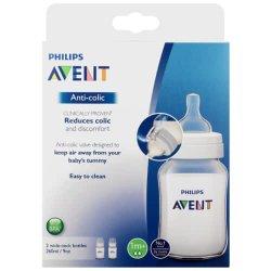 Avent Classic+ Feeding Bottles 2X260ML