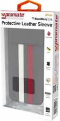 Promate Zino BlackBerry Z10 Protective Leather Sleeve in Grey