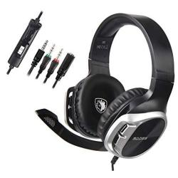 Sades Stereo Gaming Headset For Xbox One PS4 PC Surround Sound Over-ear  Headphones Anti-noise MIC Volume Control Laptop Mac Smar | R969 00 |