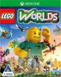 XBOX One Game Lego Worlds Retail Box No Warranty On Software