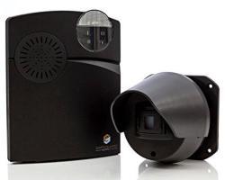 Driveway Alarm - Wireless Driveway Alarm - Long Range 1000 Foot Completely Wireless Driveway Alarm System With Weatherproof Driveway Alarm Sensor & Fl