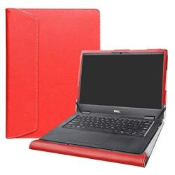 """Alapmk Protective Case Cover For 14"""" Dell Latitude 14 3400 Laptop Warning:not Fit Latitude 14 3490 3480 3488 3460 3470 Red"""