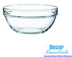Glass Serving Bowl 17CM