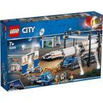 LEGO CITY Space Port - Rocket Assembly & Transport
