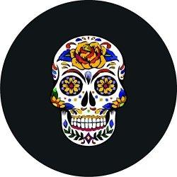 CustomGrafixTireCoversTM Sugar Skull Tire Cover 32