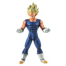 "Japan VideoGames Banpresto Dragon Ball Z Master Stars Piece 10"" Super Saiyan Vegeta Figure"