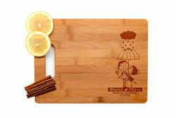 Krezy Case Wooden Engraved Cutting Board Home D Cor Cool Wedding Gifts For The Couple