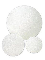 Floracraft Styrofoam Snowballs 2 In. Pack Of 12 Pack Of 3