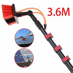 Rxqee 3.6-11M Carbon Fiber Telescopic Rod Washing Set Equipment Telescopic Extension Pole Cleaning Suitable For Trucks Windows W