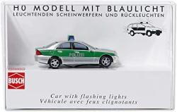 USA Busch 5630 Mercedes C Class Police Ho Scale Model Vehicle