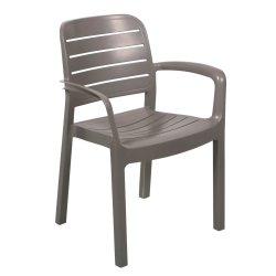 GOLD SUN - Clifton Slatted Armchair