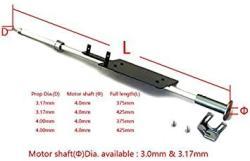 USA Adjustable Drive Shaft Flexible Hard Shafting Length 285MM 375MM 425MM W Prop Shaft 3.0MM 3.17MM 4.0MM Motor Shaft 3.0MM 4.0MM For Rc Boat Sh