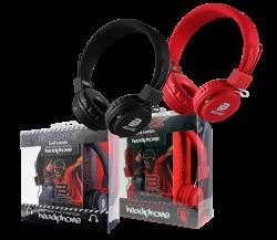 Bounce Ball Headphone Red