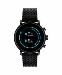 Movado Connect 2.0 Unisex Powered With Wear Os By Google Stainless Steel And Ionic Plated Black Steel Smartwatch Color: Black Model: 3660034
