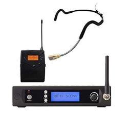 Uhf Waterproof Sweat-resistant Fitness Headset Wireless Microphone Waterproof Sweatproof Microphone