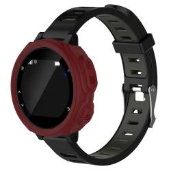 Solid Color Silicone Watch Protective Case For Garmin F235 F750 Red