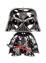 Funko Star Wars Darth Vader Chrome Metallic Exclusive Pop Vinyl Figure