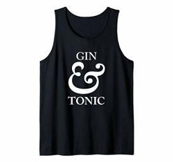 Gin And Tonic Design Tank Top